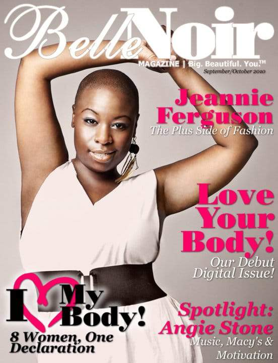 The newest plus size magazine taking it to the streets: Belle Noir Magazine