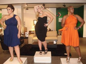Plus size designer Monif C celebrates her five year anniversary