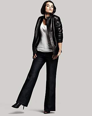 Fall 2010 Plus Size Trend- Luxe Leather