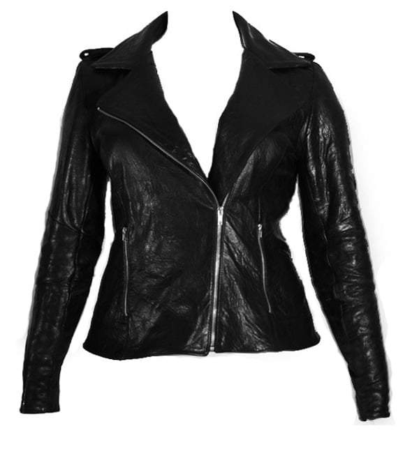 Fall 2010 Plus Size Leather Trend
