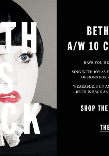 Beth Ditto is Back at Evans: Let the Fa(t)shionistas rejoice!