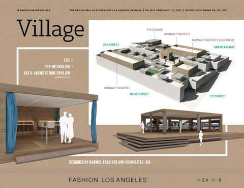 Fashion Los Angeles Rendering