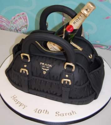 Prada Birthday Cake