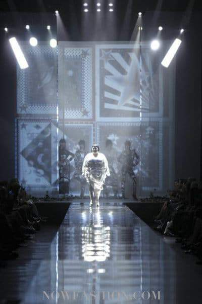 Beth Ditto for Jean Paul Gaultier S/S 2011 Paris Fashion Week