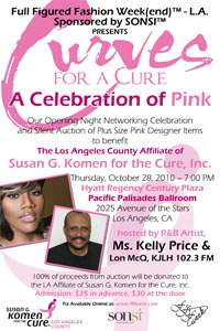 "Full Figured Fashion Week(end)â""¢ Curves for a Cure: A Celebration in Pink"