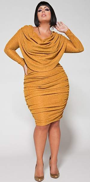 Plus Size Designer Monif C. 2010 Holiday Collection