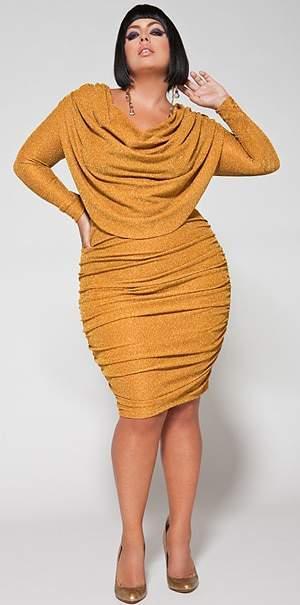 Plus Size Designer Monif C 2010 Holiday Collection