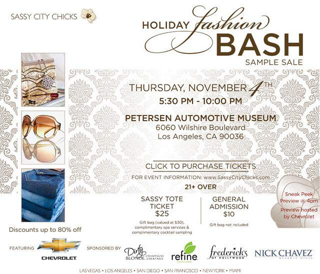 Sassy City Chicks Labels and Liquor Holiday Bash