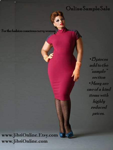 Plus size Designer Jibri Sample Sale