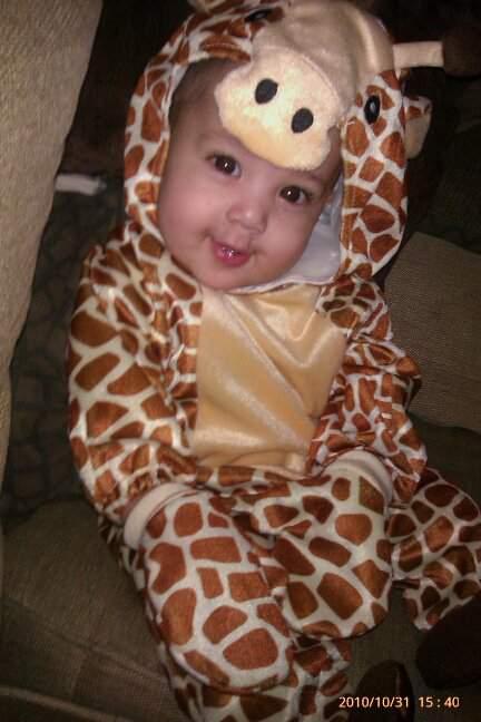 My Nephew Noah for Halloween