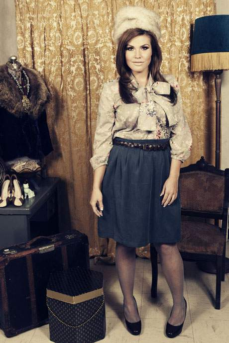Plus Size Designer Stefanie Bezaire Fall 2010