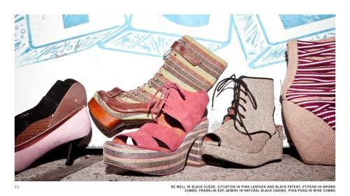 Jeffrey Campbell Spring 2011 Lookbook