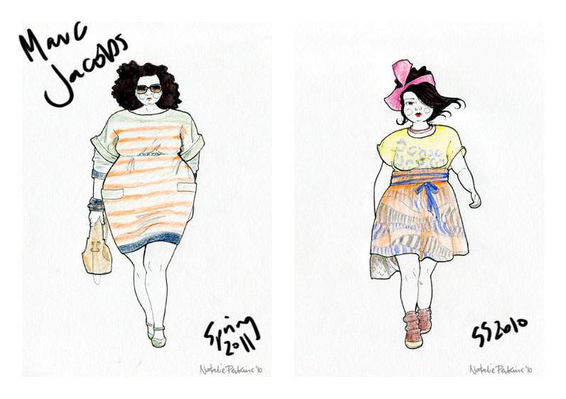 Redrawn: Marc Jacobs by Definatalie