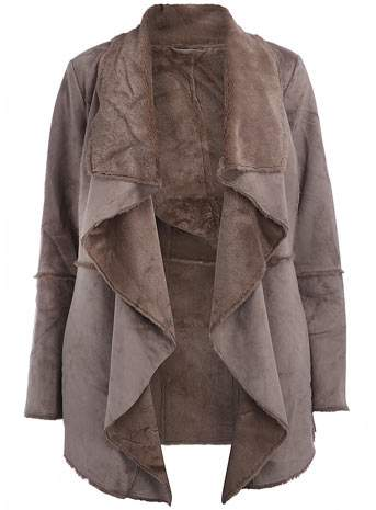 The Style 369 Giveaway- Mink Waterfall Jacket