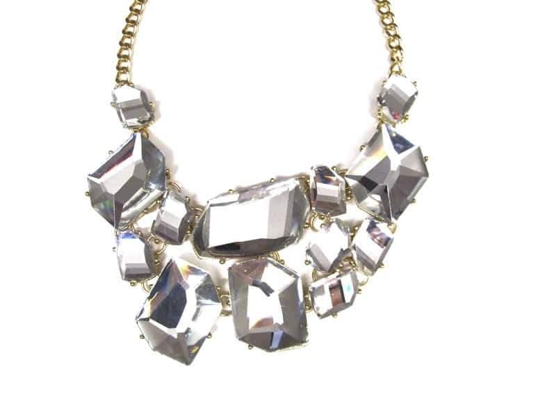Rich Rocks Cluster necklace