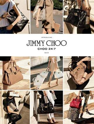 Jimmy Choo 24:7 Hand Bag Collection