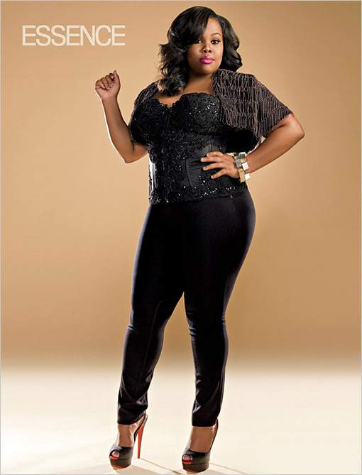 Amber Riley channels Chaka Khan for Essence