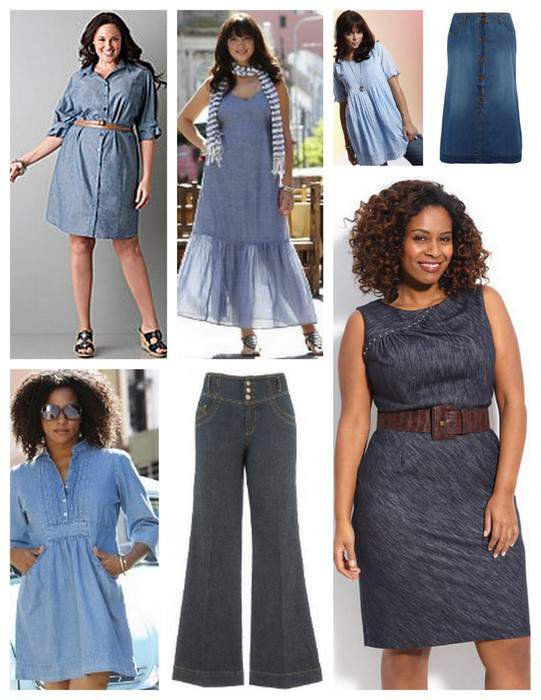 Spring 2011 Plus Size Spring Denim Trends