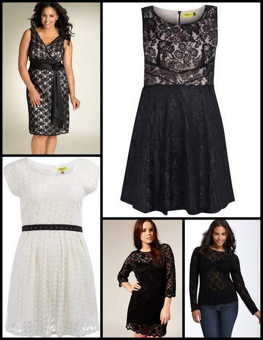 Spring 2011 Plus Size Trends- Lace