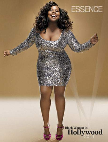 Amber Riley Channels Chaka Khan in Essence
