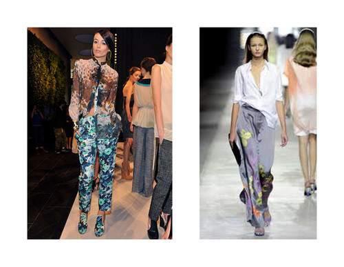 Spring 2011 Trend Floral Pants