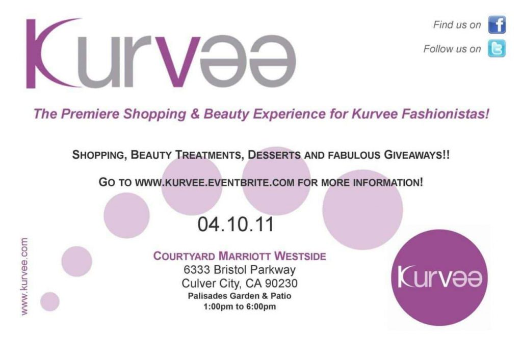 Plus Size Shopping Event: Kurvee
