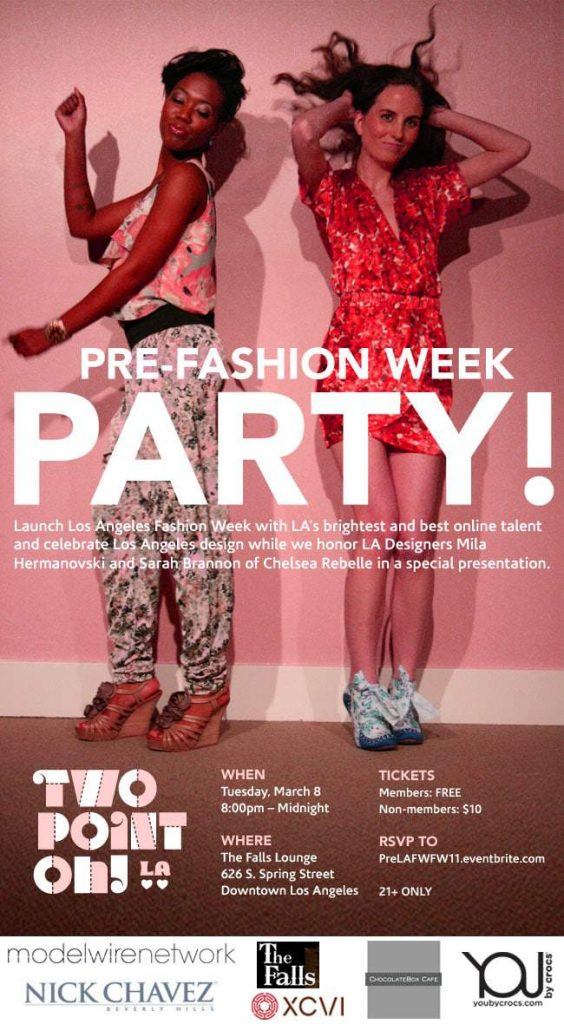 Bring In La Fashion Week With The Two Point Oh La Pre
