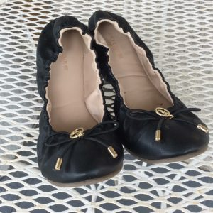 Juicy Couture Woven Ballet Flat
