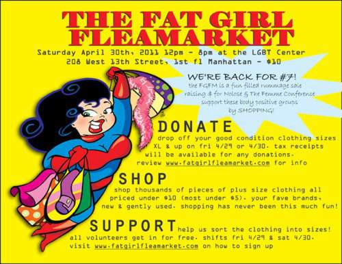 Get ready for the Fat Girl Flea Market!