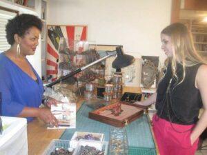Cruzing with Luv AJ designer Amanda Thomas