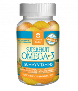 Superfruit Omega 3 Gummy Vitamins