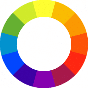 Color Wheel for Colorblocking Trend