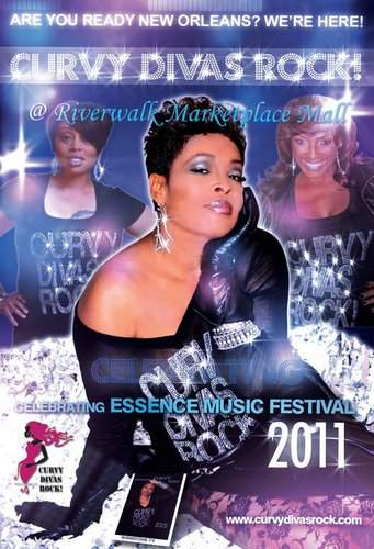 Curvy Divas Rock at the 2011 Essence Music Festival