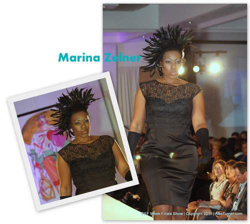 Full Figured Fashion Week Finale 2011- Marina Zelner