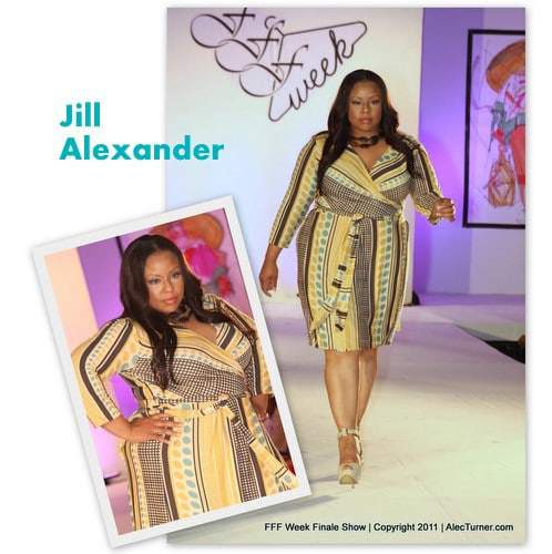 Full Figured Fashion Week Finale 2011- Jill Alexander