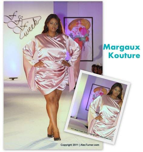 Full Figured Fashion Week Finale 2011- Margaux Kouture