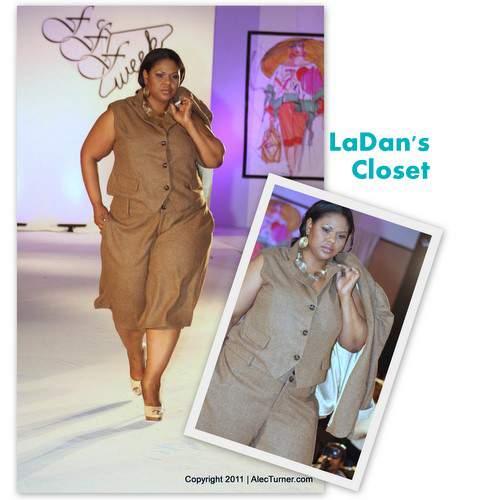 Full Figured Fashion Week Finale 2011- La Dan's Closet