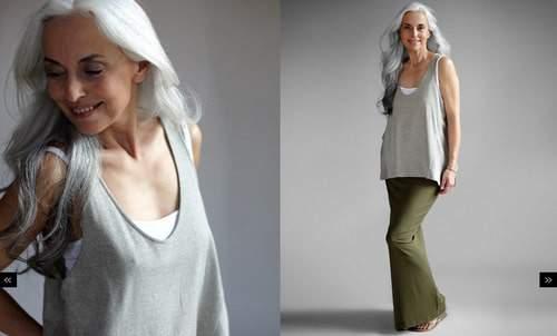 Eileen Fisher Maxi Skirt in Green