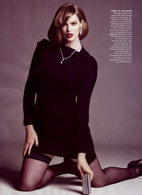 Robyn Lawley in Vogue Australia Shoot