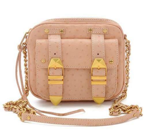 Ostrich Boyfriend Bag by Rebecca Minkoff