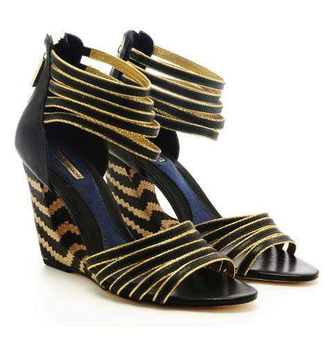 The Foxy Cut-Out Wedge by Rebecca Minkoff