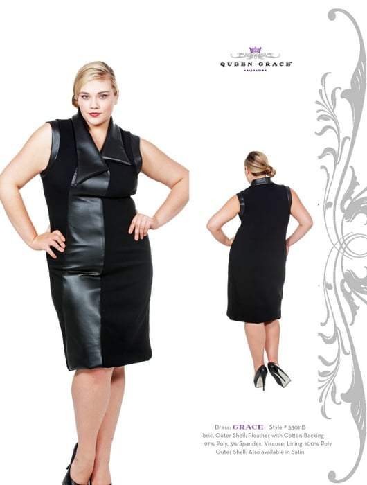 Queen Grace Fall 2011- New Plus Size Designer for Fall
