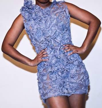 Dauxilly Maze dress