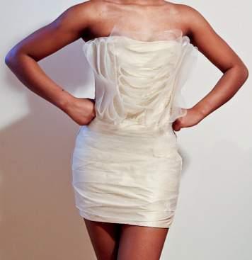 Dauxilly Tissue Paper Dress