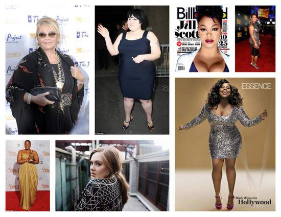 7 plus sized celebrities I'd DIE to Interview