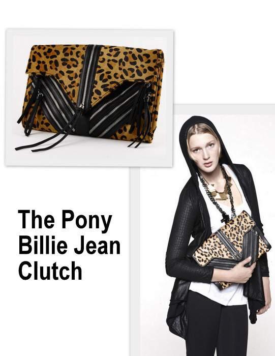 Elly Clay Pony Billie Jean Clutch