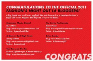 The Curvy Fashionista is FNO LA Official Blogger