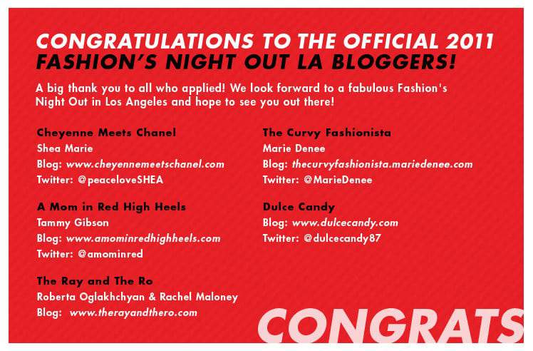 The Curvy Fashionista is FNO LA Official Blogger