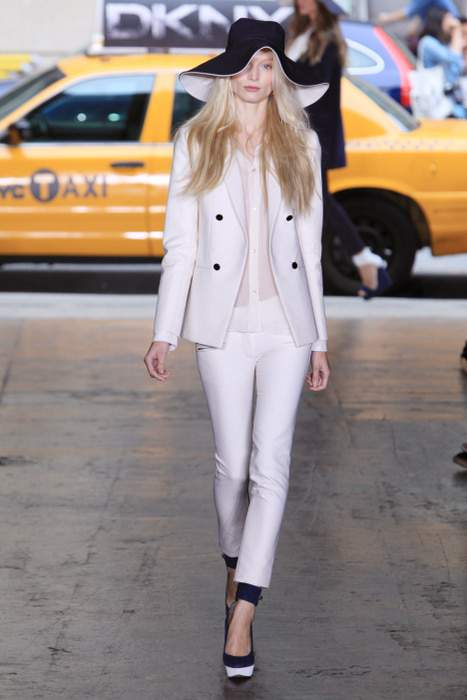 NYFW: DKNY S/S 2012 Effortlessly Chic