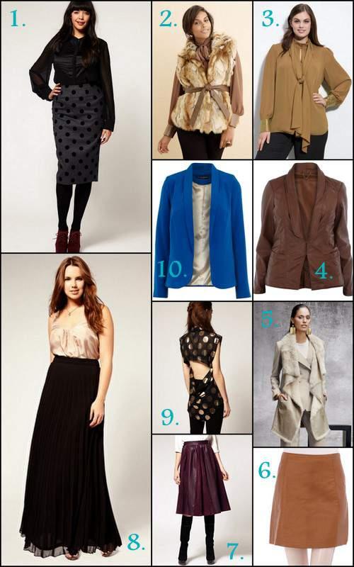The Curvy Fashionista's Fall Wishlist